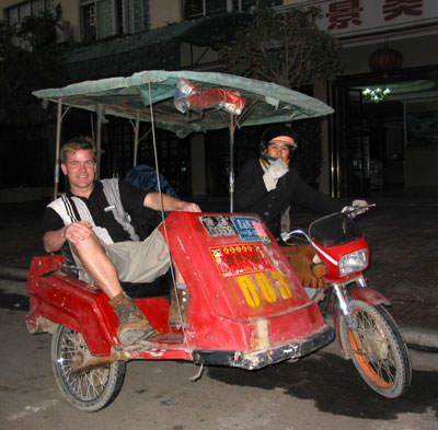 Dangerous and exciting: A Chinese moto-taxi