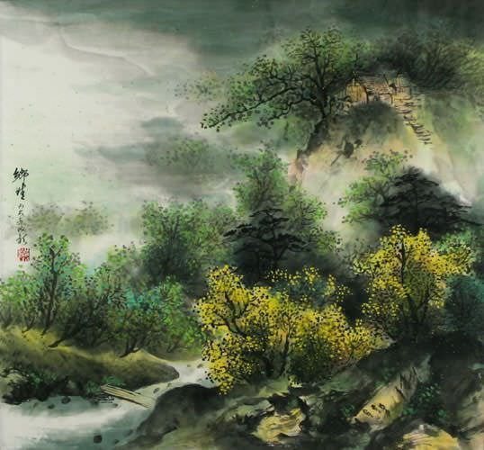 Love of Hometown - Chinese Landscape Painting