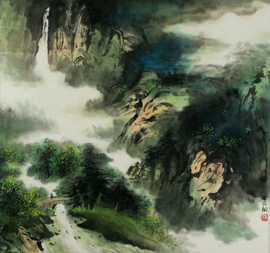 Home Sweet Home - Chinese Landscape Painting